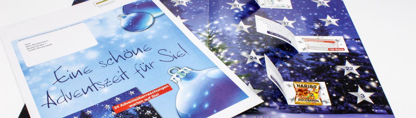 Türchenkalender als Mailingaktion
