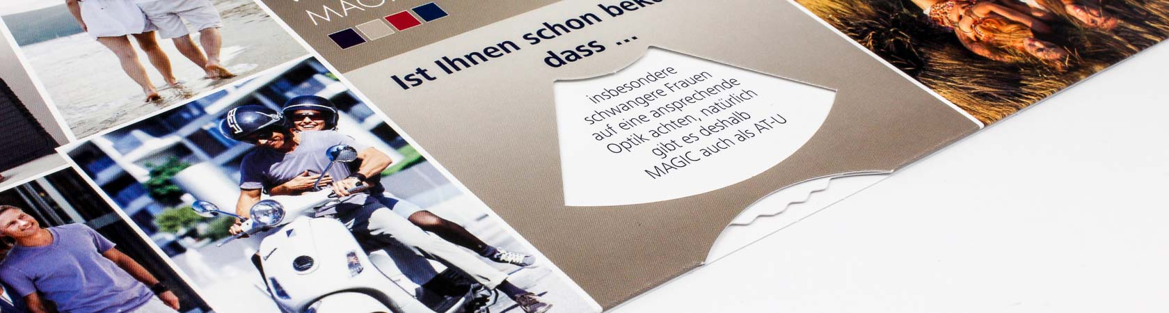 Drehscheibe in Direct-Mailing