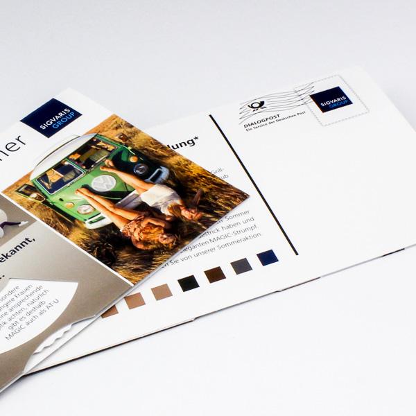 Personalisierung | MaxiPostkarte mit Drehelement
