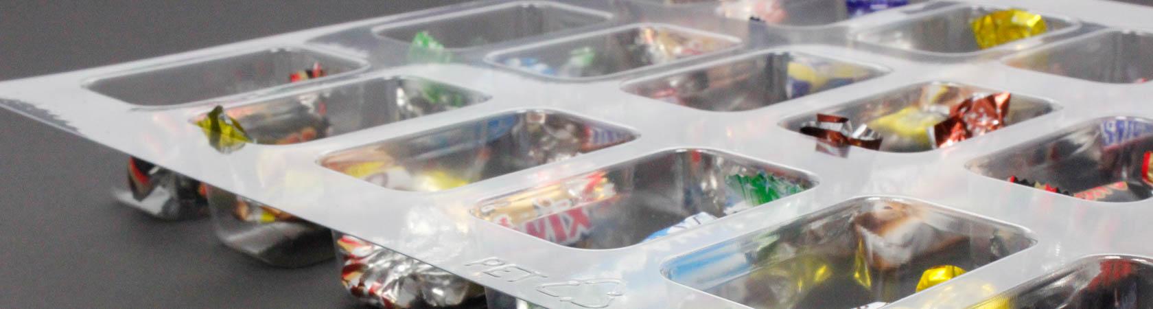 PVC Kunststoffeinsatz für Adventskalender