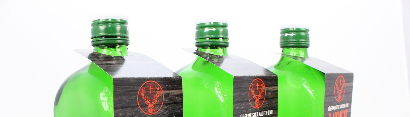 Flaschenanhänger drucken